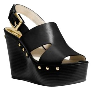 Michael Kors Black Wedges
