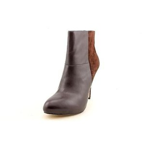 Charles David Suede Leather Brown Boots