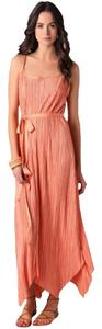orange Maxi Dress by Thomas Kincaide