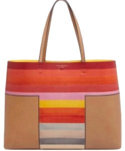 Tory Burch Perry Block T Perry Tote in Multi Color