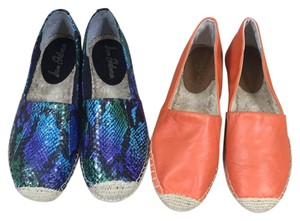 Sam Edelman Orange and multi color Flats