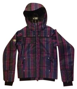 686 Waterproof Snowboard Ski Snow Xs Raspberry Plaid Jacket 81a42d130