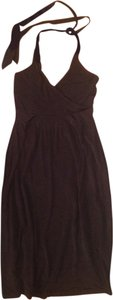 H&M short dress Black Halter Tie on Tradesy