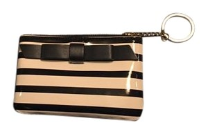 Kate Spade Zebra Wristlet in Black and white striped