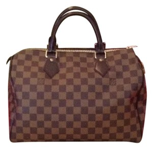 Louis Vuitton Satchel in Coffee