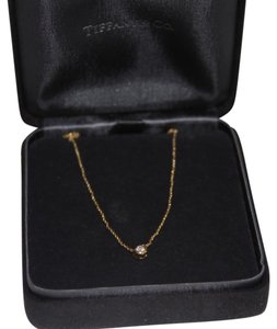 Tiffany & Co. Diamond By The Yard Necklace Yellow Gold