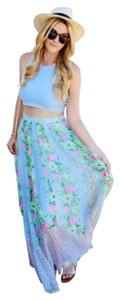 French Connection Maxi Skirt Ice cooler (light blue)