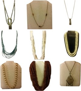 Unknown Lot of 9 Necklaces