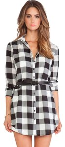 BB Dakota short dress Buffalo Plaid on Tradesy