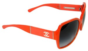 Chanel Chanel 5230 Orange Signature CC Oversize Square Sunglasses