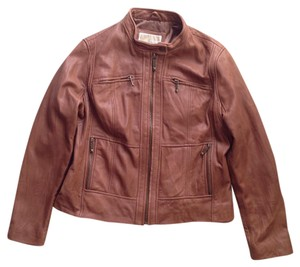 MICHAEL Michael Kors Leather Moto Motorcycle Motorcycle Jacket