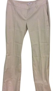 Ann Taylor LOFT Boot Cut Pants Offwhite stripe