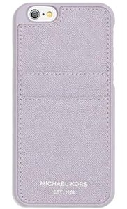 Michael Kors Michael Kors Saffiano Phone Cover With Pocket for iPhone 6/6s Plus