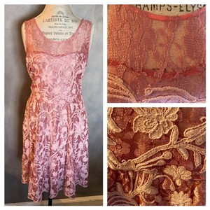 Anthropologie Midi Lace Dress