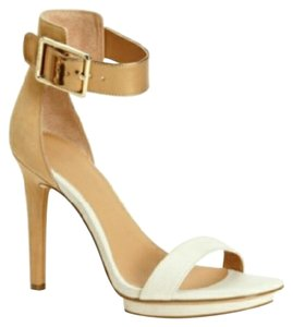 Calvin Klein Tan/White Pumps