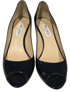 Jimmy Choo Navy Pumps