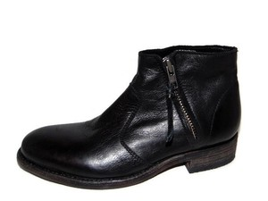 Blackstone Handcrafted Dl55 Leather Ankle Black Boots