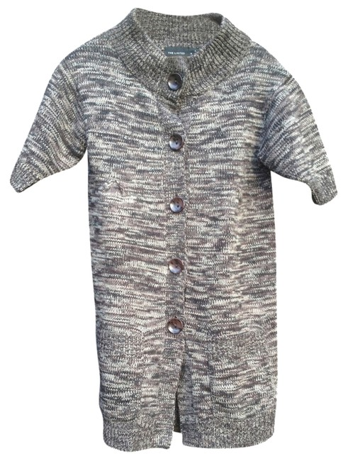 Preload https://item1.tradesy.com/images/the-limited-grey-brown-flash-sale-wool-cardigan-size-4-s-1946185-0-0.jpg?width=400&height=650