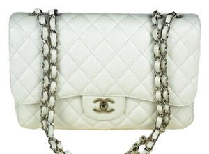 Chanel Jumbo Caviar Single Shoulder Bag