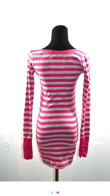 Abercrombie & Fitch short dress Pink and Grey T-shirt Shift Comfortable on Tradesy
