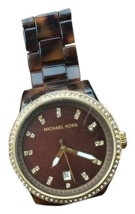 Michael Kors Michael Kors Jet Set Tortoise Shell Watch