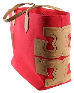 Tory Burch Tote in Red / Lobster