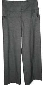 Worthington Trouser Modern Fit Stretchy Wide Leg Pants Gray