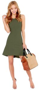Lulu*s short dress Olive Green on Tradesy