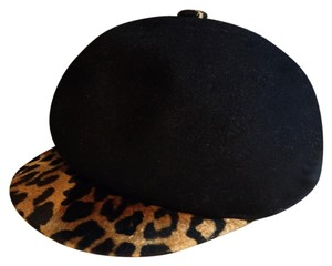 Lorenzo Masiero Lorenzo Wool And Cheetah Hat