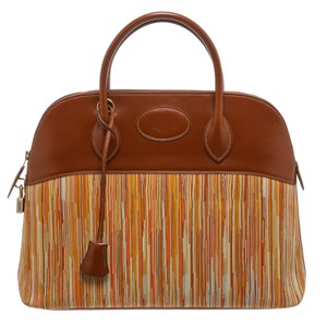 Hermès Satchel in Brown/Multicolor