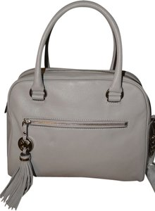 Michael Kors Soft Letaher Satchel in gray