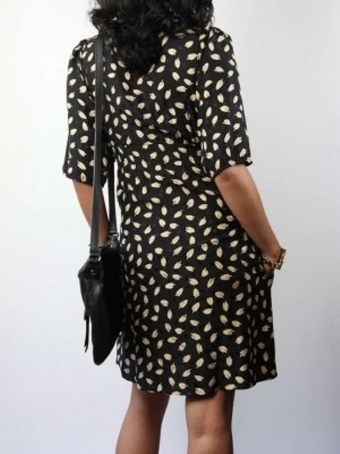 Yumi Kim short dress Black and gold on Tradesy