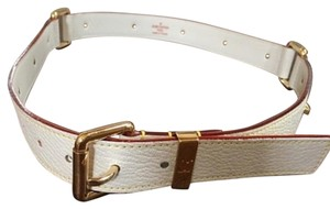 Louis Vuitton Suhali Leather Belt