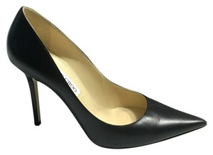 Jimmy Choo #kidleather Black Pumps