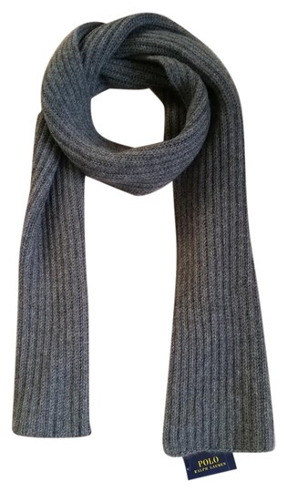 Preload https://item2.tradesy.com/images/polo-ralph-lauren-gray-new-cashmere-scarfwrap-1946341-0-4.jpg?width=440&height=440