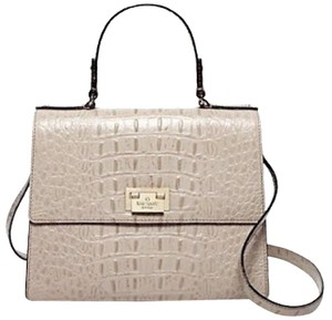 Kate Spade Satchel in side walk beige