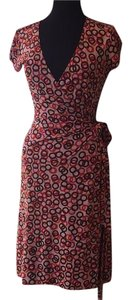 Banana Republic short dress Pink, Brown, & Orange on Tradesy