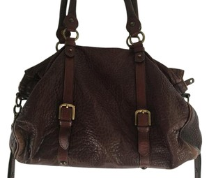 Tony Cohen Leather Soft Shoulder Bag