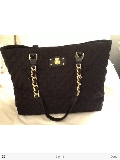 Marc Jacobs Quilted Tote Chain Gold Shoulder Bag Image 4