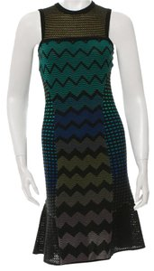 Missoni Longsleeve Striped Chevron Dress