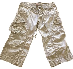 Mossimo Supply Co. Capris Light Khaki
