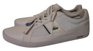 Lacoste Size 17 Mens Sport Casual Gym New white Athletic