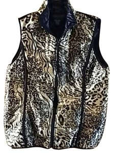 Live A Little Animal Print Vest
