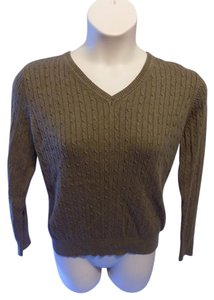 Kim Rogers V-neck Solid Petite Sweater