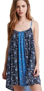 Forever 21 short dress Blue on Tradesy