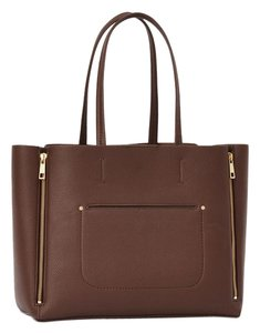 Ann Taylor Handbags Tote in saddle brown