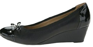 Geox Black Wedges