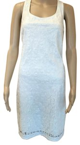 Laundry by Shelli Segal Sequin Backdetail Wedding Dress