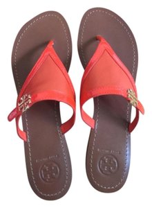 Tory Burch FIRE ORANGE Sandals