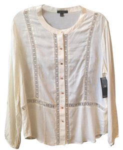 Ella Moss Top Cream